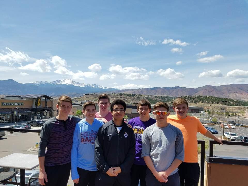 teen boys squad spring break